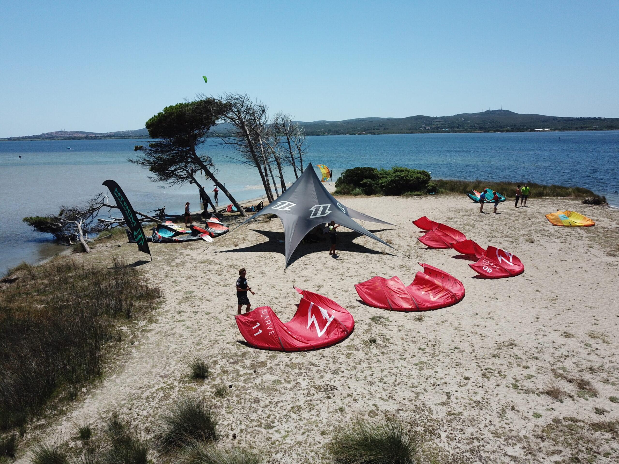 Punta Trettu Kitesurf Sardegna