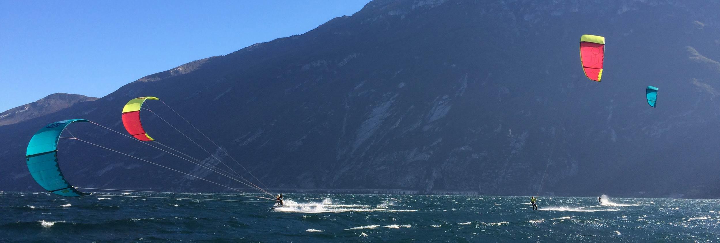 Kite al Lago di Garda, uno dei migliori Kite Spot d'Italia