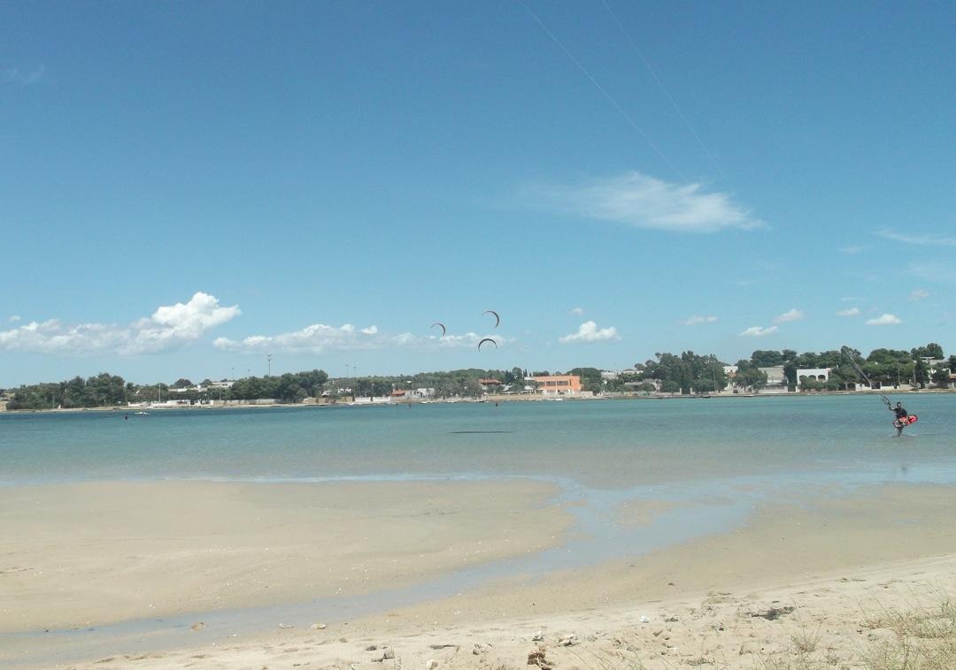 Kite in Puglia